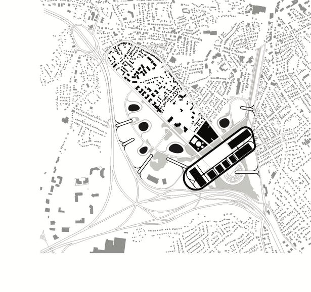 The Roundabout Town: Figure Ground