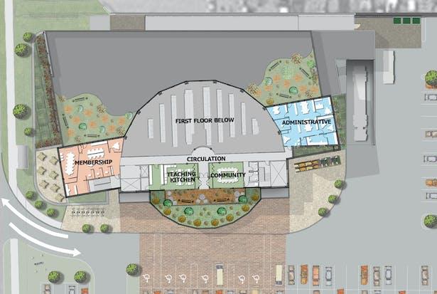 Second Floor Plan View
