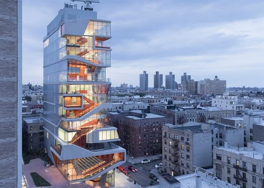 The Roy and Diana Vagelos Education Center by Diller Scofidio + Renfro won the Best in Competition & Honor title at the 2017 AIANY Design Awards. The 2022 edition is now accepting submissions (details below). Photo: Iwan Baan.