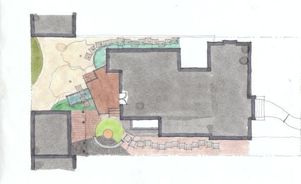 Landscape Plan Option A