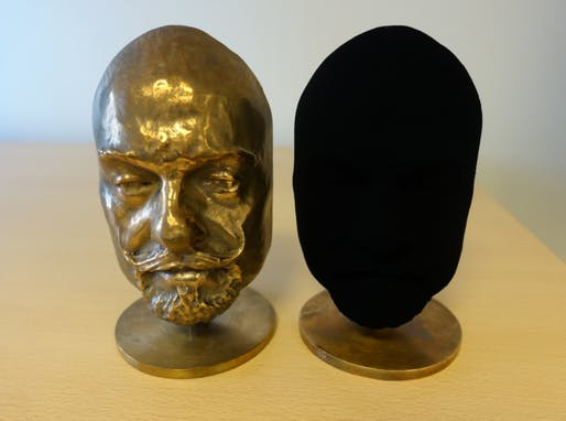Surrey NanoSystems' newly developed, non-nanotube super black paint. Courtesy of Surrey NanoSystems.