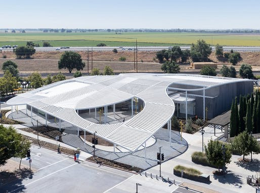 The Jan Shrem and Maria Manetti Shrem Museum of Art at UC Davis, by SO-IL and Bohlin Cywinski Jackson. (Iwan Baan)