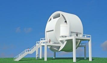 Michael Jantzen's Transmutation Pavilion