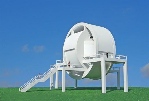 The Transmutation Pavilion by Michael Jantzen