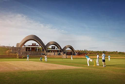 Award for Small Projects (of under £1 million): Rwanda Cricket Stadium. Photo: Jonathan Gregson.