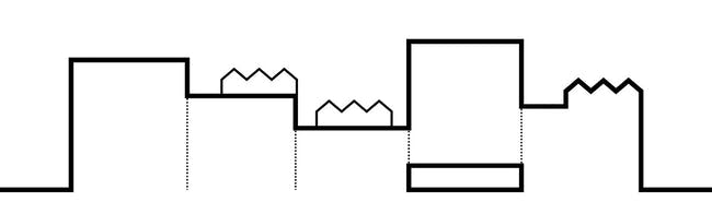 The diagram illustrates the idea of creating a city in the building (Image: ADEPT/LUPLAU & POULSEN)