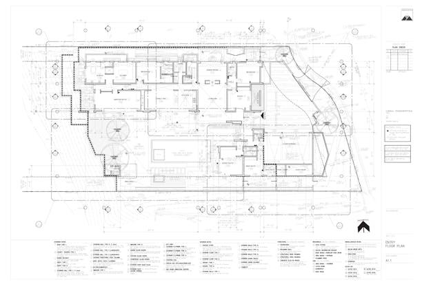 Residential 1 (Ground Floor Plan)
