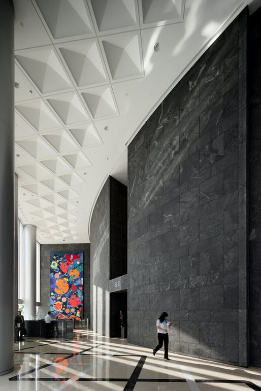 Torre Espacio by Pei Cobb Freed & Partners. Photo © Pei Cobb Freed & Partners Architects LLP.