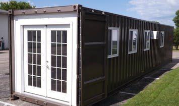 Amazon now sells pre-fabricated container houses