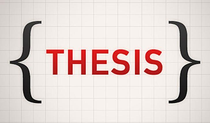 Dissertation words
