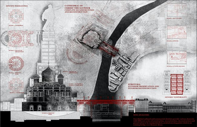 Bronze Medal (for best undergraduate design project): Vidhya Pushpanathan for 'The Depository of Forgotten Monuments'