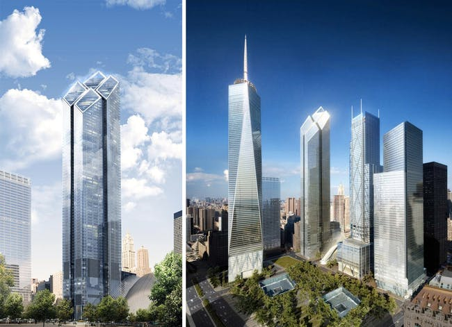 Fosters Out Ingels In Big Designed Two World Trade Center To