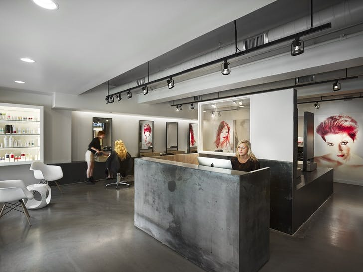 B+B Hairs Color Salon by Studio Hillier.