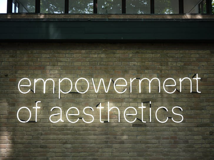 Denmark's 'The Empowerment of Aesthetics', Photo by Terri Peters.