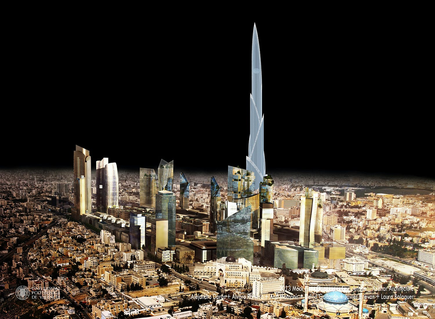 Winner Of Mock Firms International Skyscraper Competition - International architecture firms