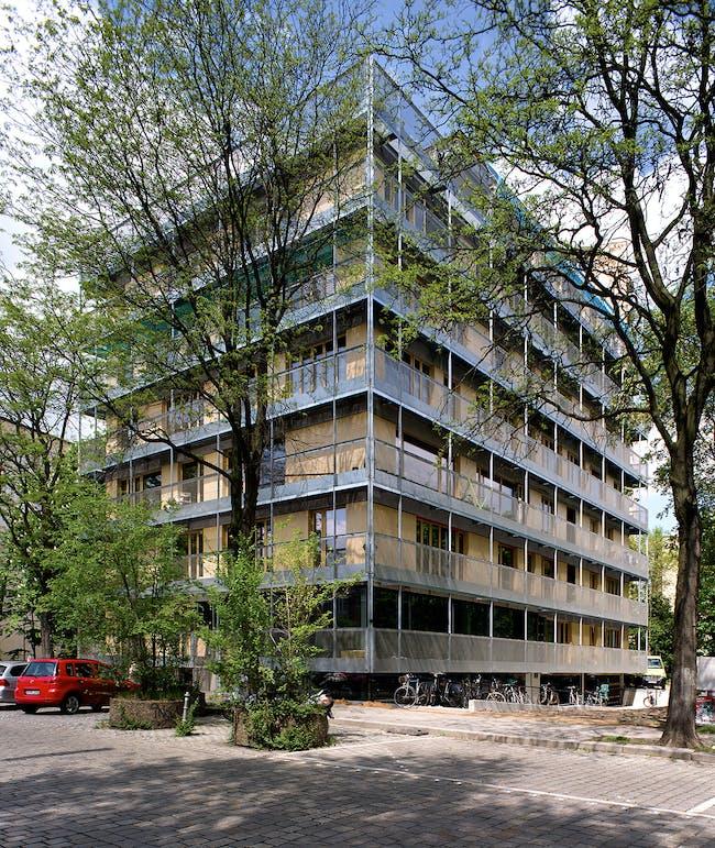 R50 – cohousing in Berlin, Germany by ifau und Jesko Fezer and HEIDE & VON BECKERATH. Photo: Andrew Alberts.