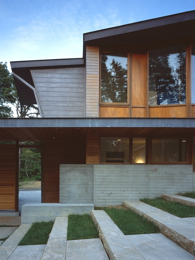 Orleans House in Cape Cod, MA by Charles Rose Architects