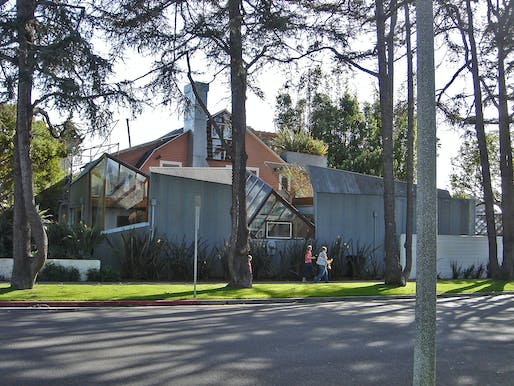 Frank Gehry's house, image via Wikipedia.