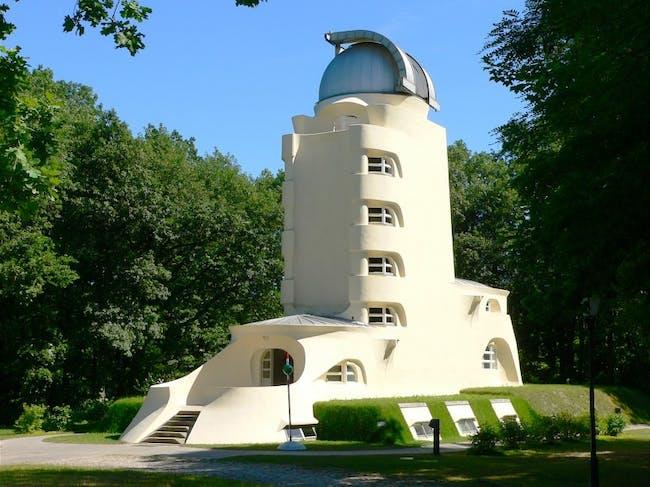 Einsteinturm. Photo credit: Astrophysikalisches Institut Potsdam