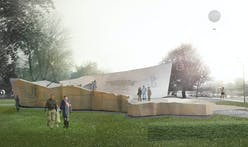"CSA's ""Ribbon of Memory"" memorial in Krakow, Poland being built to honor Polish WWII resistance"