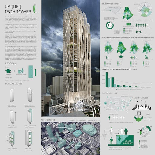 ​[UP]-LIFT TECHNOLOGY TOWER by Bex Sejdiu and Devin Waddell