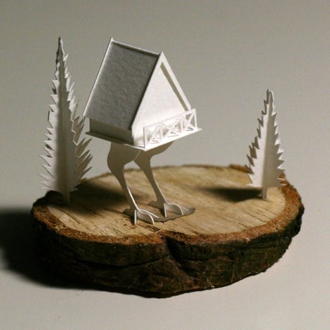 Paperholm by Charles Young. Photo courtesy of Charles Young.