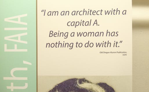 quote/photo of Chloethiel Woodard Smith (Photographs courtesy of Jillian Storms, AIA)