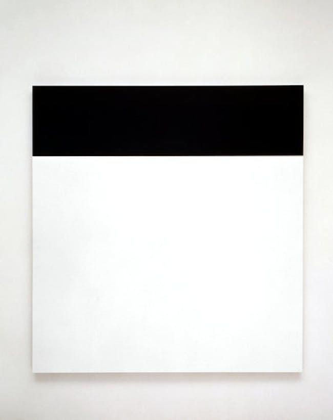 Ellsworth Kelly's 'Black Over White', 1966