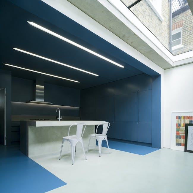 Slab House in London, UK by Bureau de Change; Photo: Ben Blossom