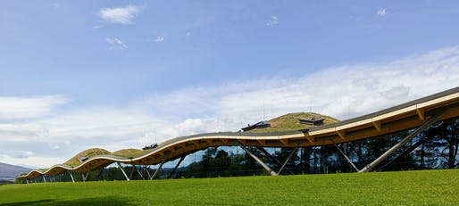 The Macallan Distillery and Visitor Experience by Rogers Stirk Harbour + Partners © Rogers Stirk Harbour + Partners