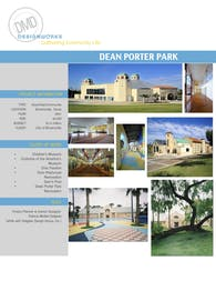 Dean Porter Park Additions and renovations