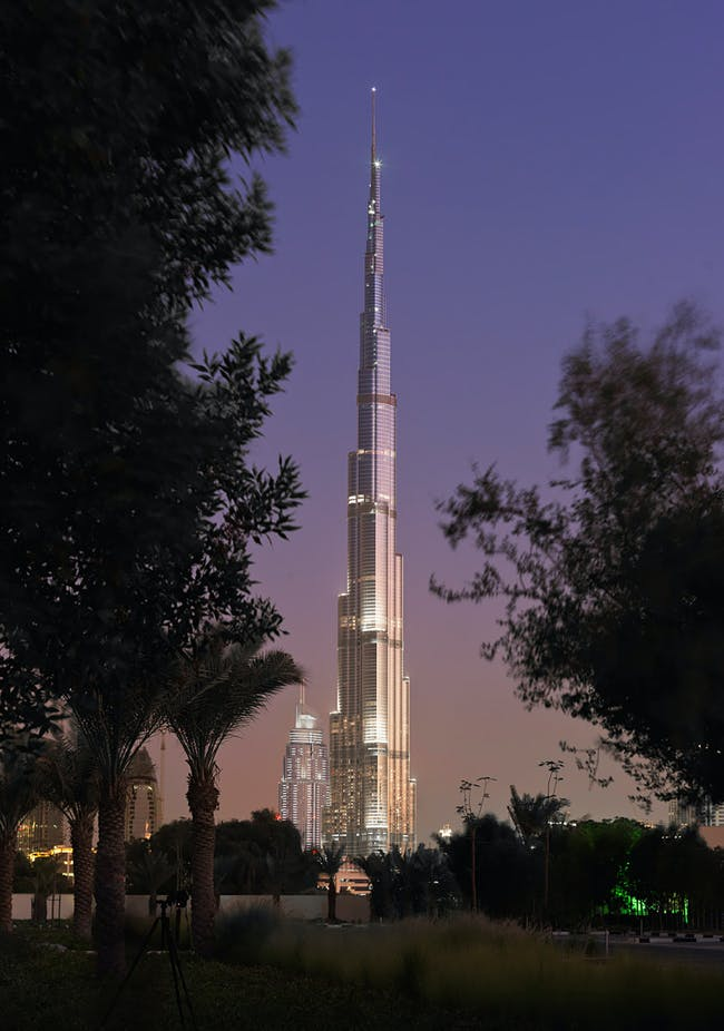 Burj Khalifa night, Photo: James Steinkamp © AS+GG