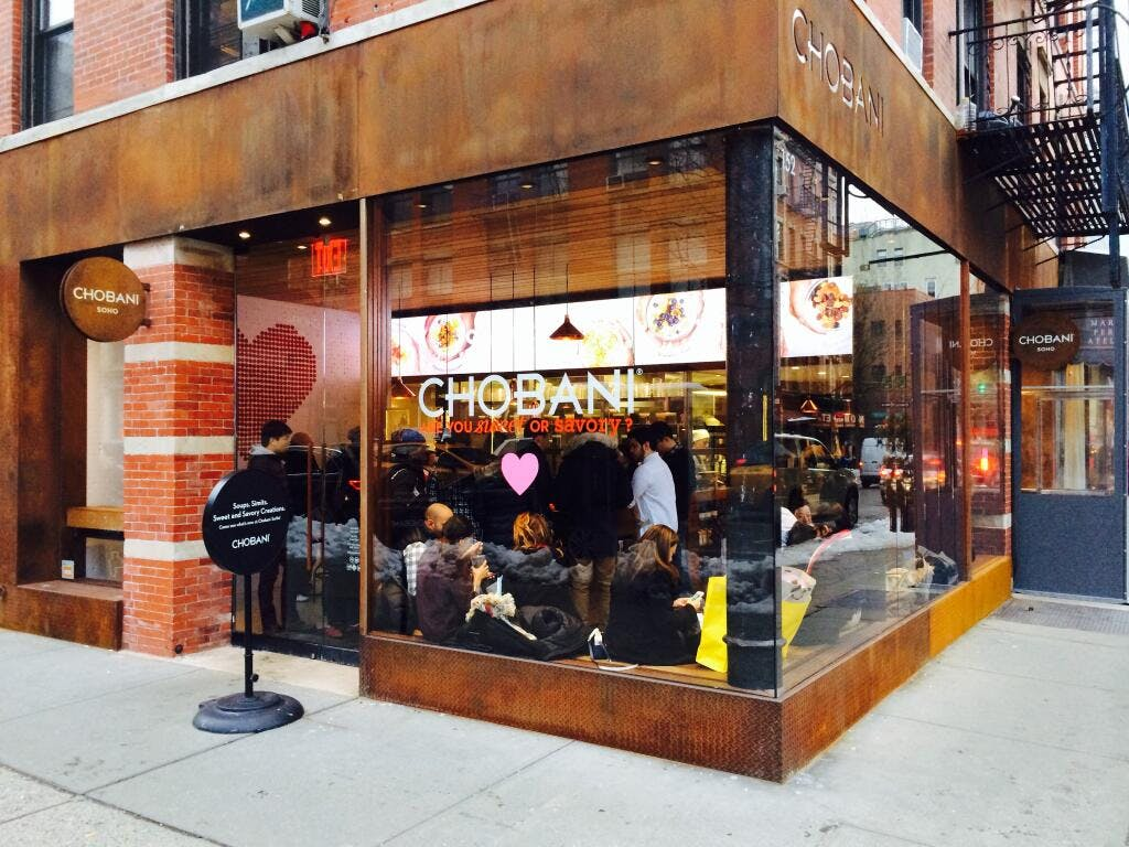 Chobani Flagship Store Soho Jordan Lu Archinect