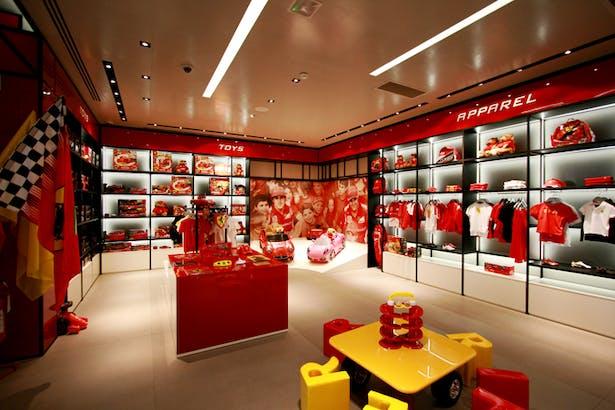 616c269feed8a8 Ferrari Store Maranello - Kids Area