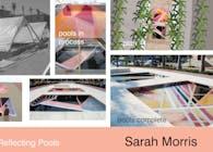 Sarah Morris 'Monaco Reflecting Pools'