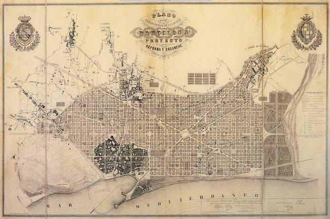 The 'Pla Cerda' from 1859. Image via wikimedia.org