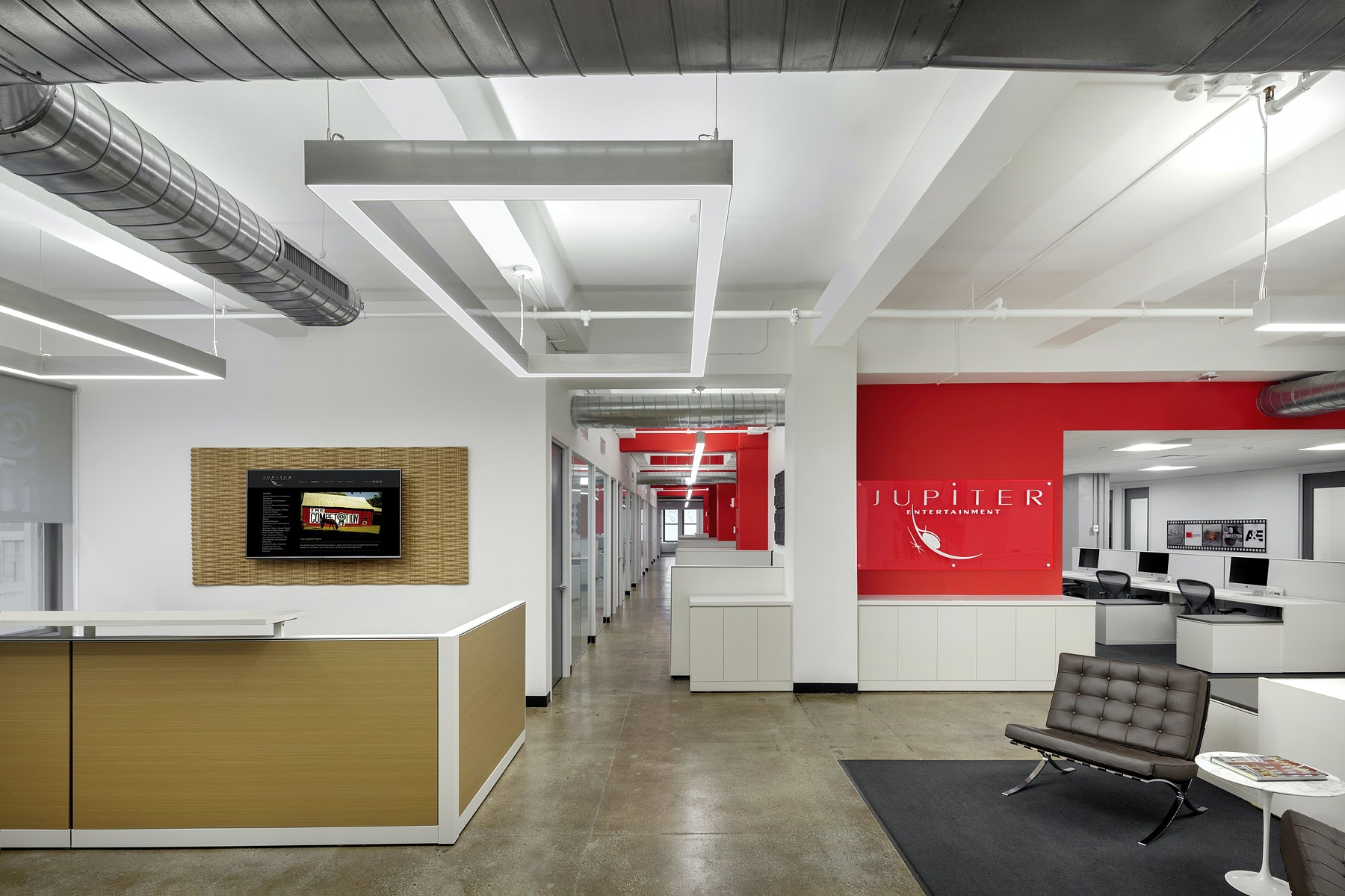 MADGI Provided A Full Floor Office Design And Build Out For Jupiter  Entertainmentu0027s Newly Completed 20,000 SF NYC Office Space And Production  Studios ...