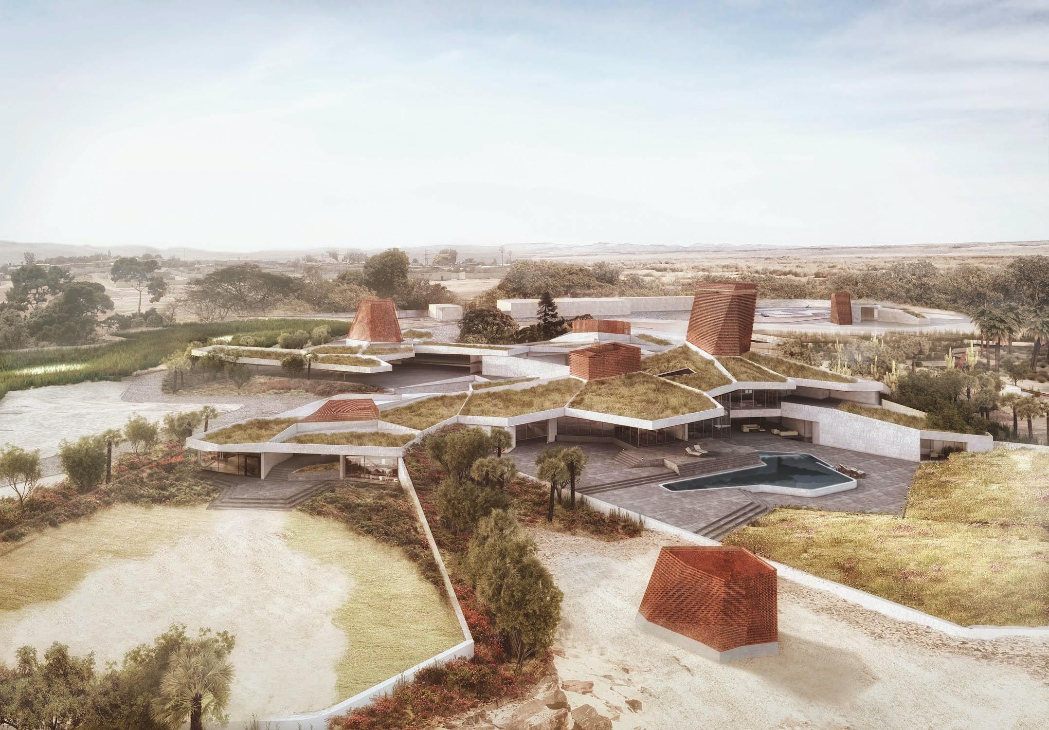 Seed House   AGi Architects. © The 3D Bakery