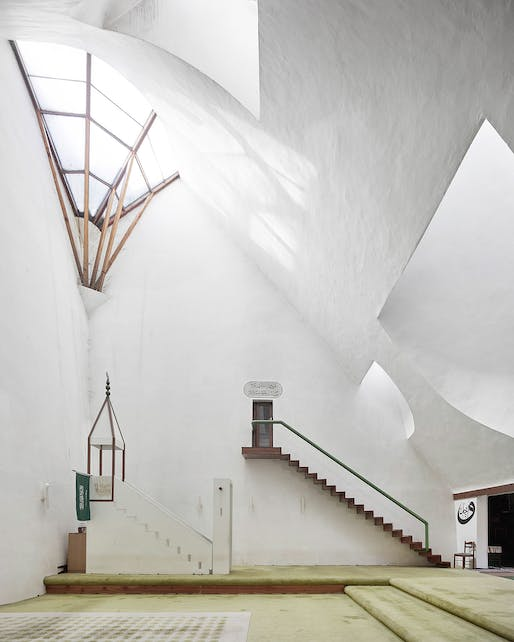 Zlatko Ugljen. Šerefudin White Mosque. 1969–79. Visoko, Bosnia and Herzegovina. Interior view. Photo: Valentin Jeck, commissioned by The Museum of Modern Art, 2016.