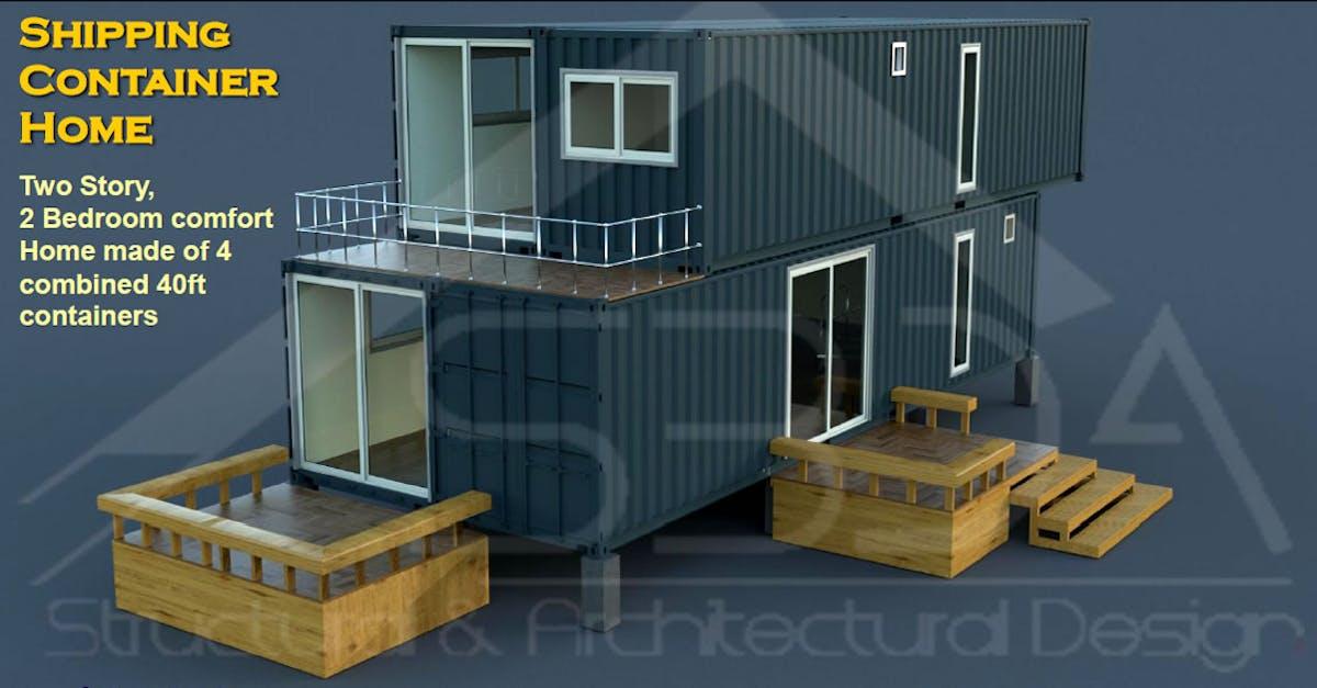 Shipping container home design in iowa s3da design for The design home