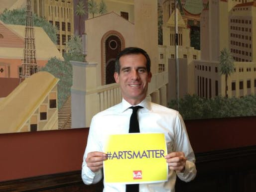 #ArtsMatter indeed for a creative capital like Los Angeles...but so does affordability. Photo via Twitter.