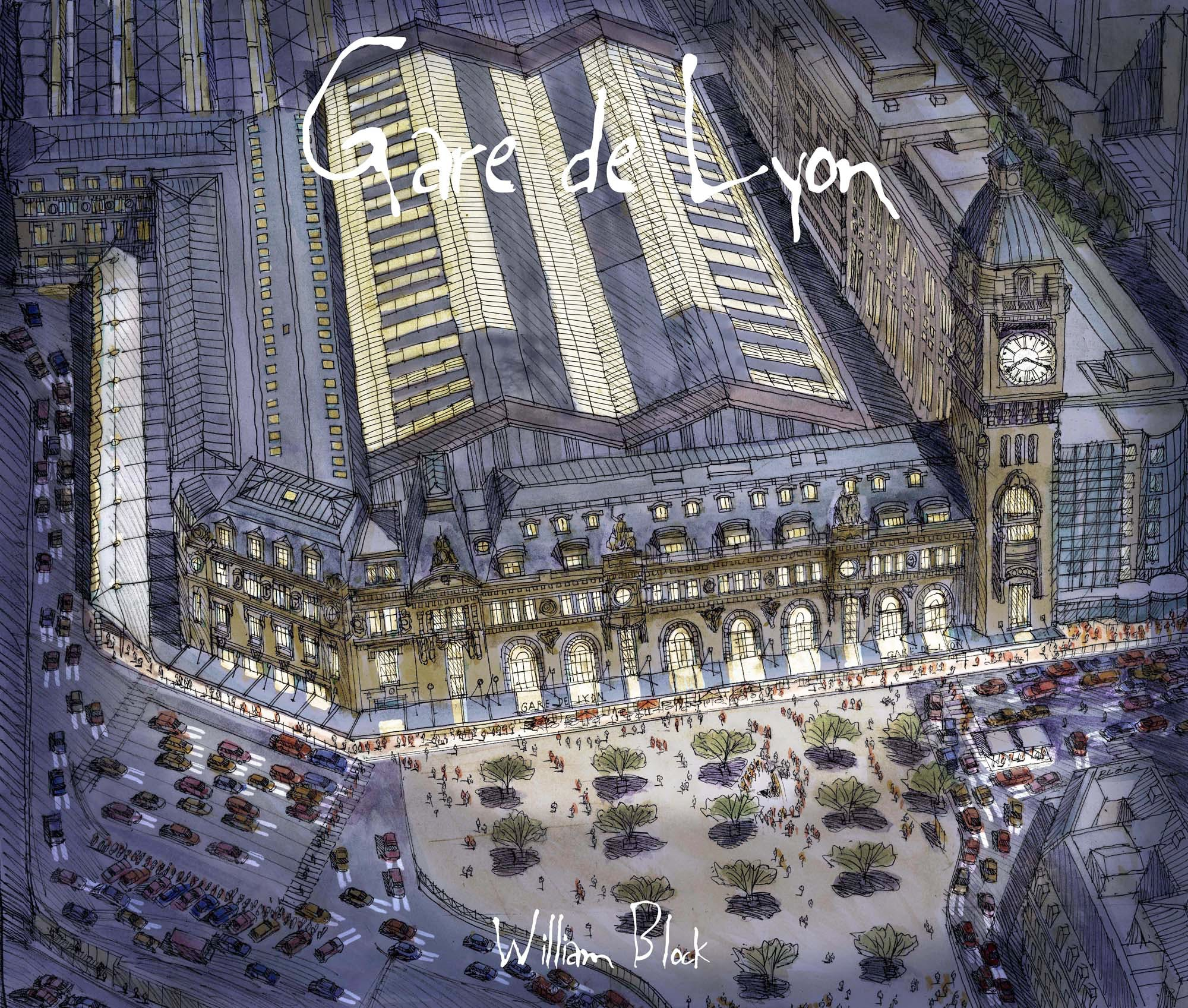 gare de lyon train station william block archinect. Black Bedroom Furniture Sets. Home Design Ideas