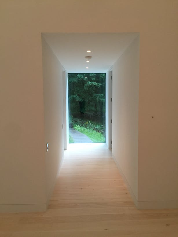 Corridor with a view