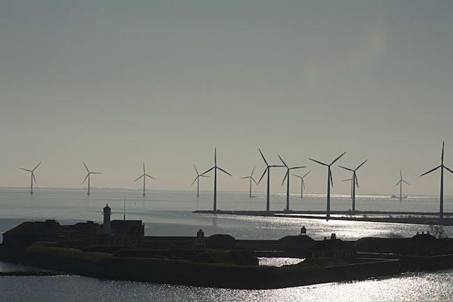 The iconic windmills of Copenhagen