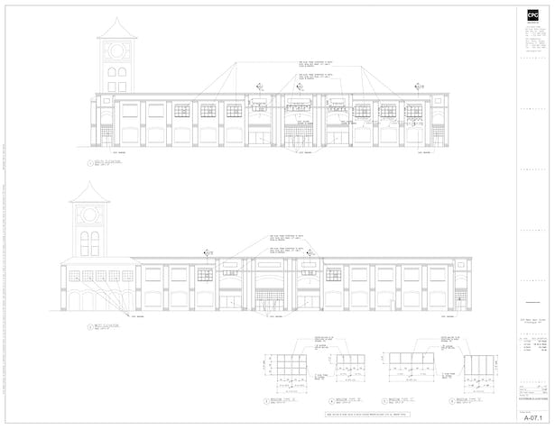 Briarcliffe College Exterior Elevations