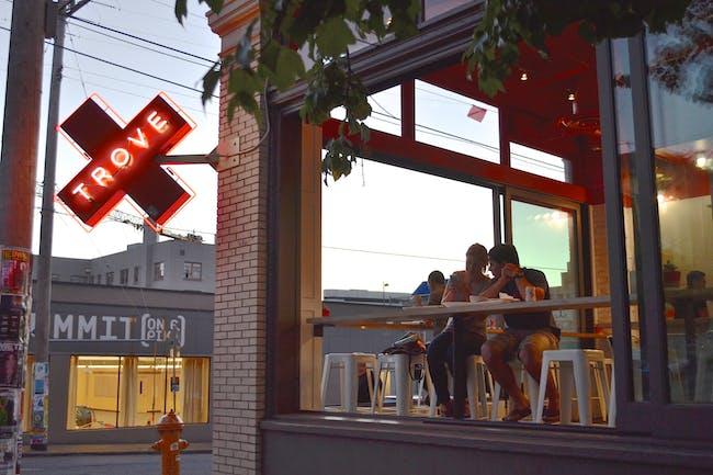 Trove restaurant in Seattle's Capitol Hill neighborhood. Photo courtesy of Paul Michael Davis.