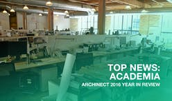 Which news stories defined architecture education in 2016?