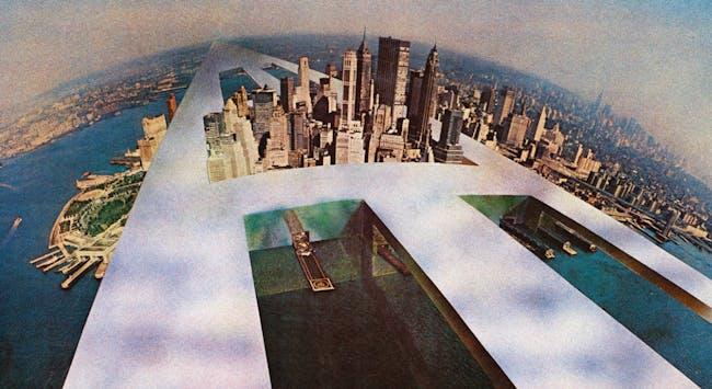 "Superstudio, ""The Continuous Monument (New New York),"" 1969/Courtesy Fondazione Maxxi via the New York Times"