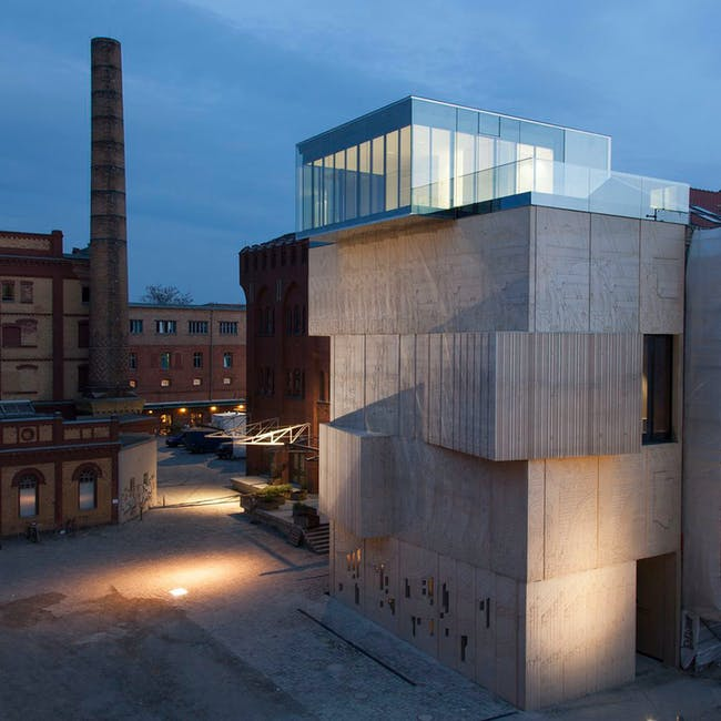 Museum for Architectural Drawing in Berlin, Germany by nps tchoban voss. Photo © Patricia Parinejad