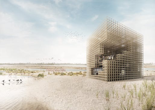 3RD PRIZE: The Cube. PROJECT AUTHORS: Rafail Gkaidatzis, Panagiotis Dimakidis | Netherlands.
